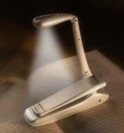 Klemm-Leselampe Bookchair Clip-On LED Silbern