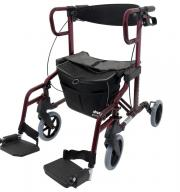 Rollator & Transport-Rollstuhl 2 in 1 Drive Medical Diamond Deluxe